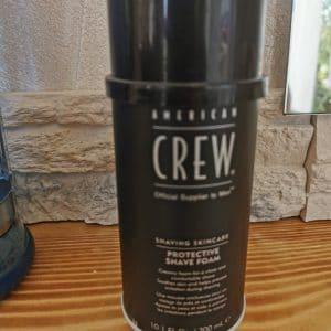 Produit Protective Shave Foam de chez Revlon- American Crew