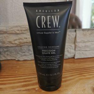Produit Precision Shave Gel de chez Revlon- American Crew